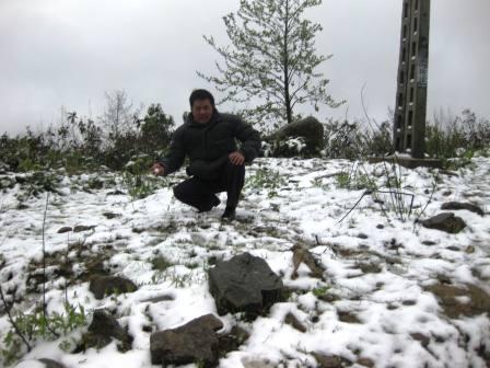 Tuyết phủ trắng Sapa 12/2013