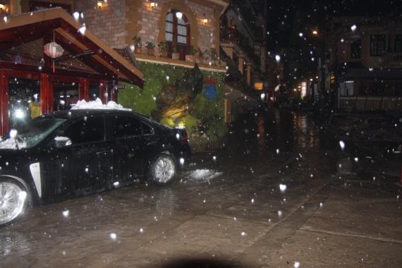 Mưa tuyết ở Sapa